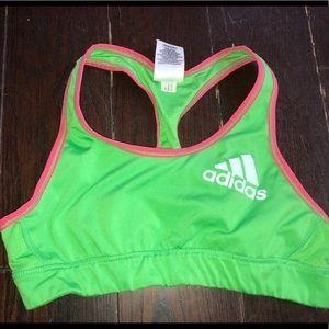 Adidas sport bra sz medium